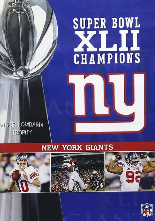 Super Bowl XLII Champions - New York Giants