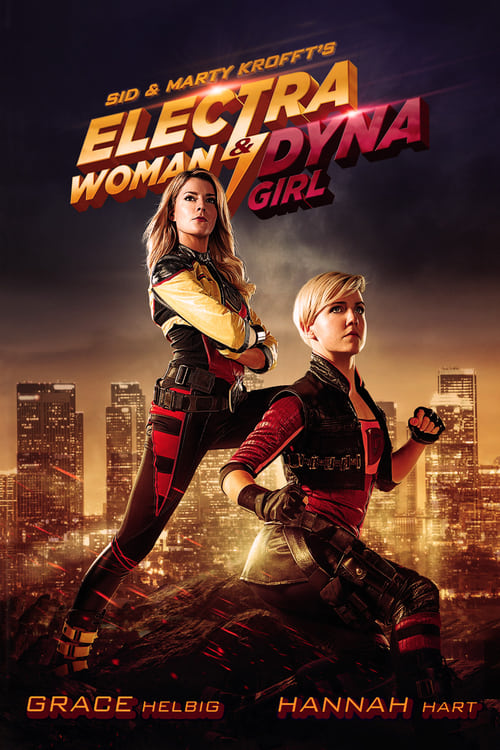 Image Electra Woman and Dyna Girl