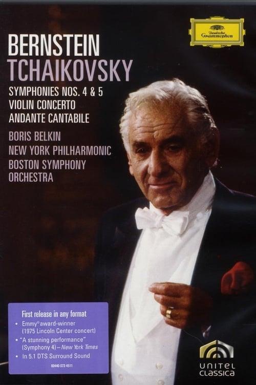 Bernstein: Tchaikovsky: Symphonies No. 4 & 5