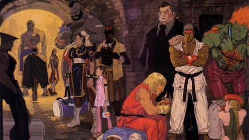 STREET FIGHTER SAGA ~Kakutou Bushiden~ Famitsu DVD Video Poster