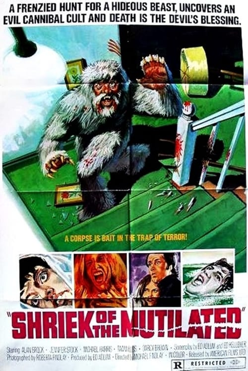 Largescale poster for Shriek of the Mutilated