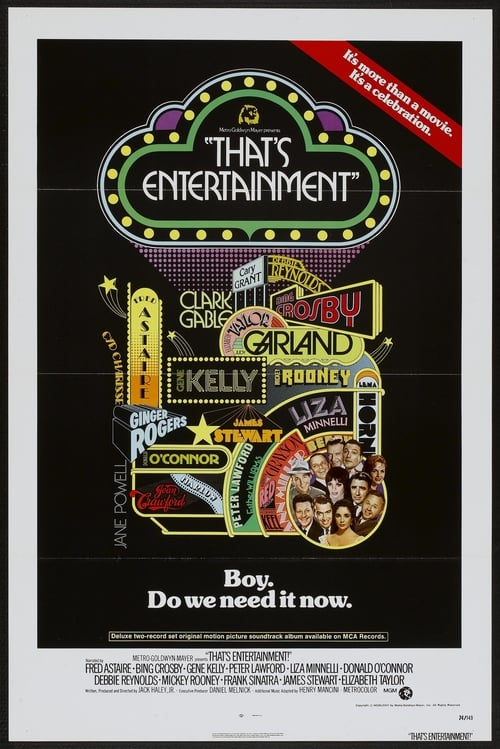 Largescale poster for That's Entertainment!
