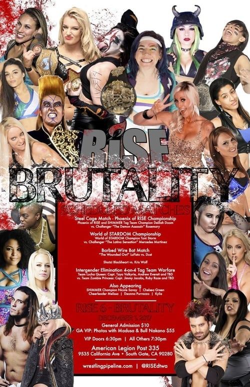RISE Wrestling. RISE 6 Brutality