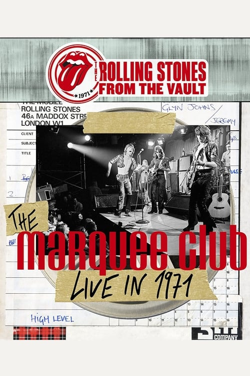 The Rolling Stones From The Vault - The Marquee Club Live in 1971