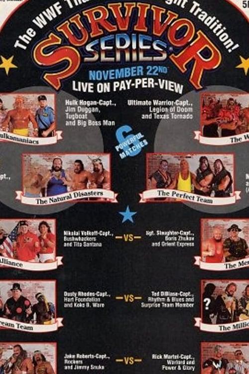 WWE Survivor Series 1990