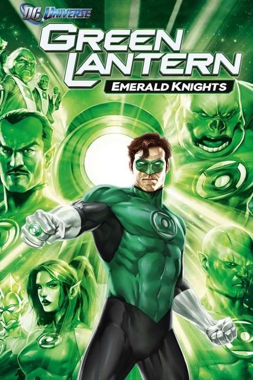 Green Lantern: Emerald Knights poster