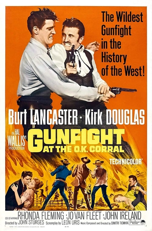 Gunfight at the O.K. Corral Gunfight at the O K Corral 1957 Torrents Torrent Butler 500x762 Movie-index.com