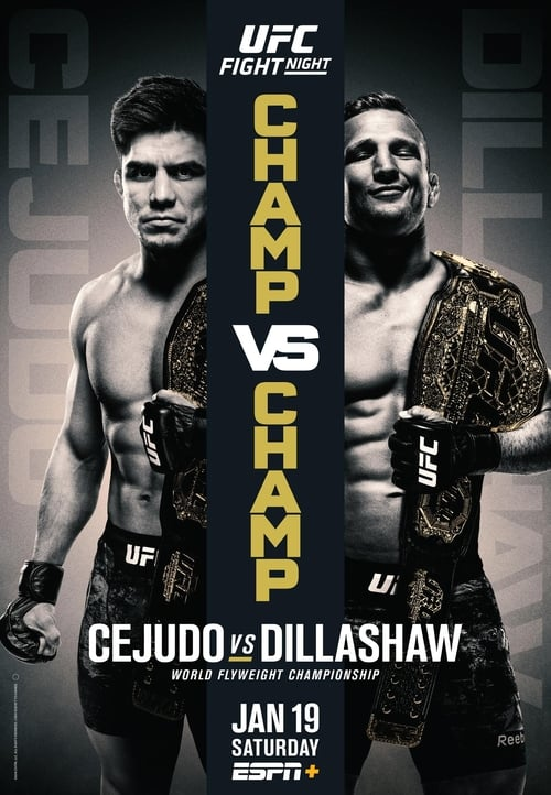 UFC Fight Night 143: Cejudo vs Dillashaw
