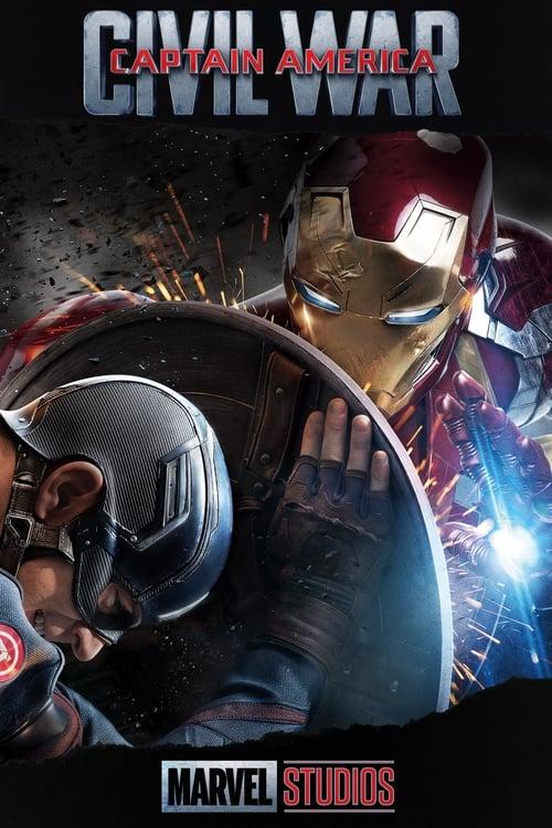 Captain America: Civil War poster