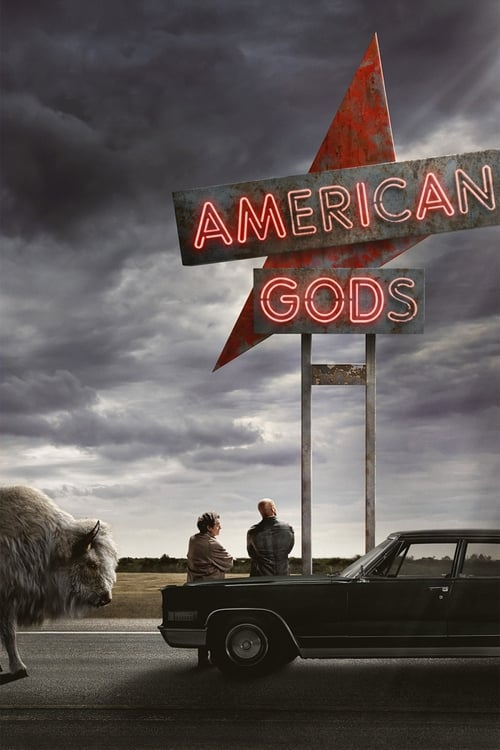 Watch American Gods (2017) in English Online Free | 720p BrRip x264