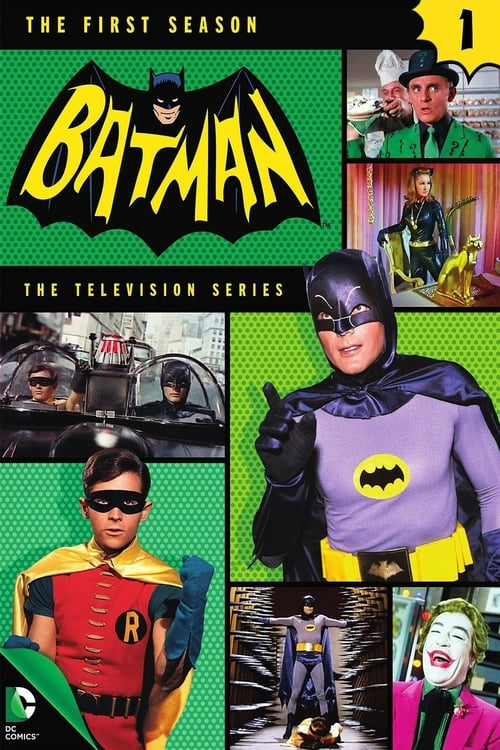 Watch Batman Season 1 in English Online Free