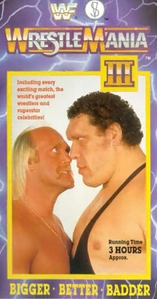 WWE WrestleMania III