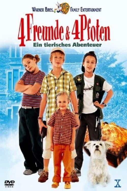 4 Freunde und 4 Pfoten