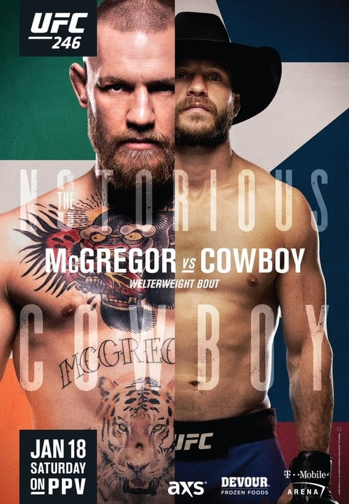 UFC 246 McGregor vs Cowboy