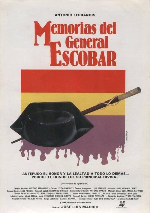 Memorias del general Escobar