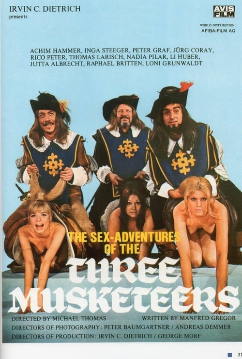 The Sex Adventures of the Three Musketeers