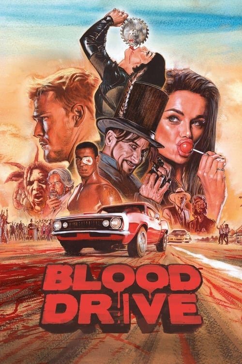 Watch Blood Drive (2017) in English Online Free   720p BrRip x264