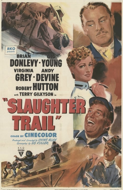 Largescale poster for Slaughter Trail