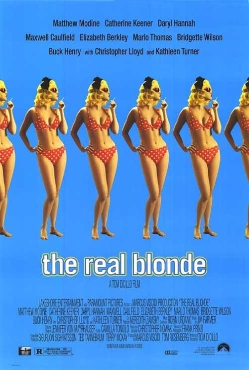 The Real Blonde poster