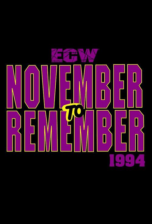 ECW November to Remember 1994