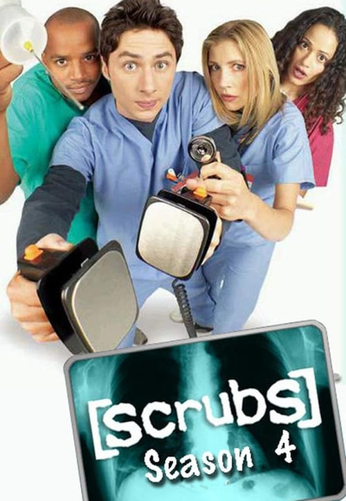 Watch Scrubs Season 4 in English Online Free