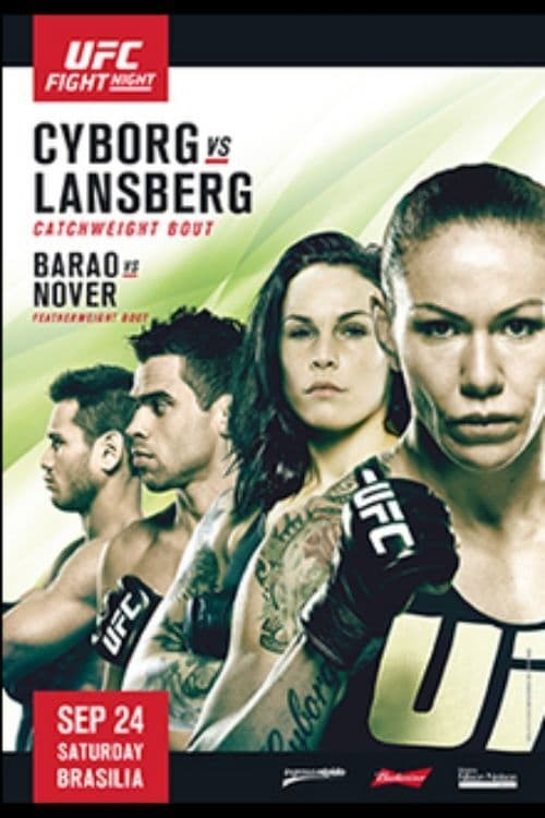 UFC Fight Night 95: Cyborg vs. Lansberg