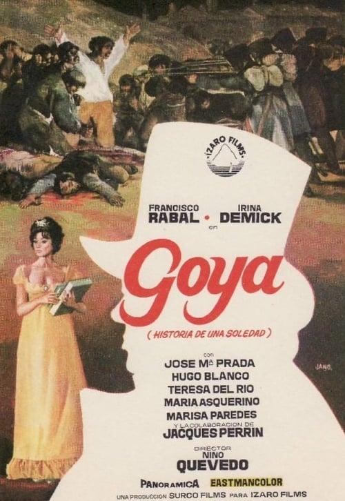 Largescale poster for Goya, historia de una soledad