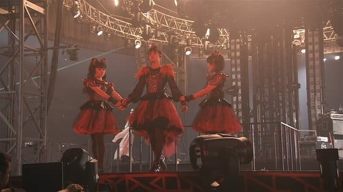 Babymetal - Live at Tokyo Dome: Black Night - World Tour 2016 Poster