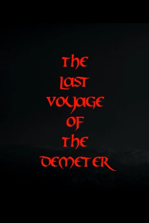 Largescale poster for The Last Voyage of Demeter