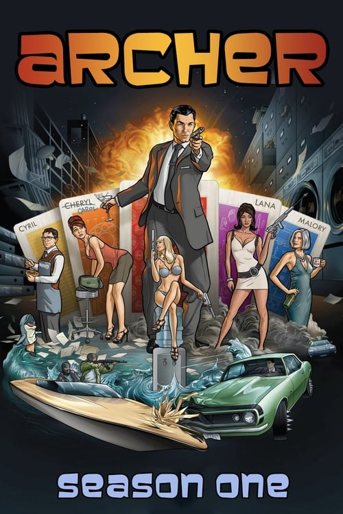 Watch Archer Season 1 in English Online Free