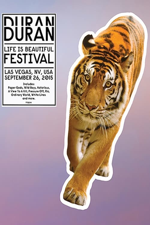 Duran Duran: Life Is Beautiful Festival