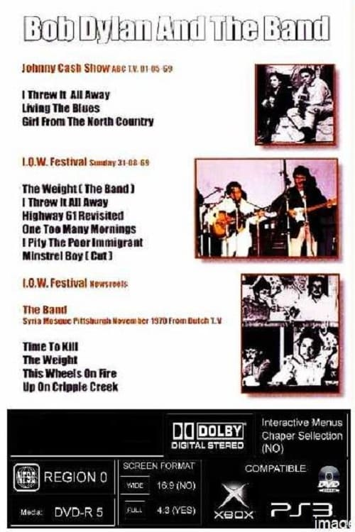 Bob Dylan and The Band: 1969-1970 Compilation