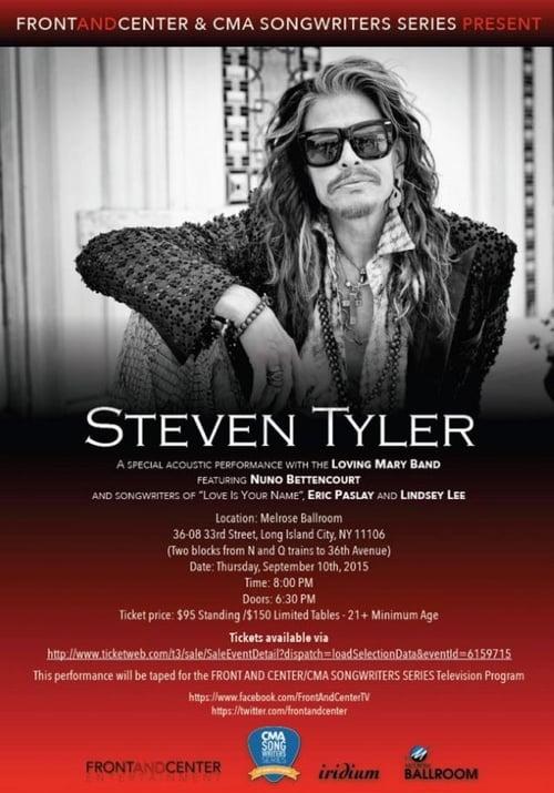 Steven Tyler – Front And Center