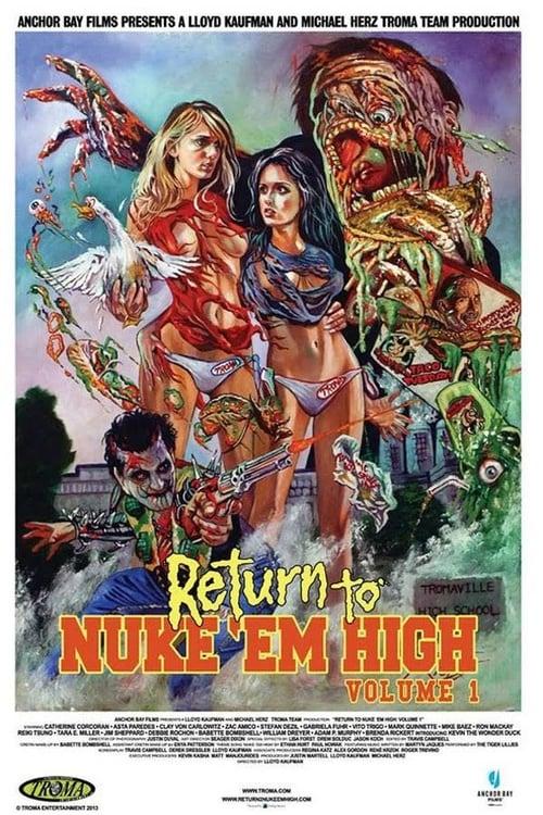 Largescale poster for Return to Nuke 'Em High Volume 1