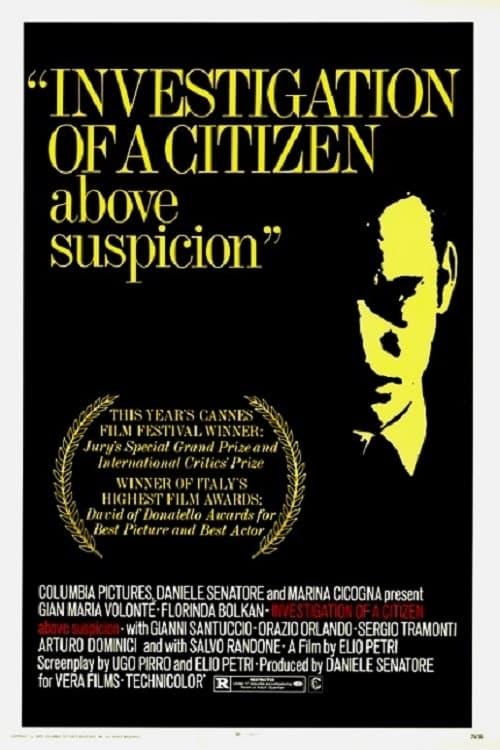 Indagine su un cittadino al di sopra di ogni sospetto