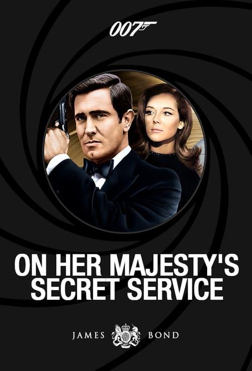 On Her Majesty's Secret Service poster