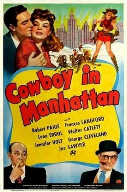Cowboy in Manhattan