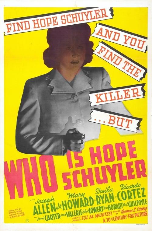 Who Is Hope Schuyler?