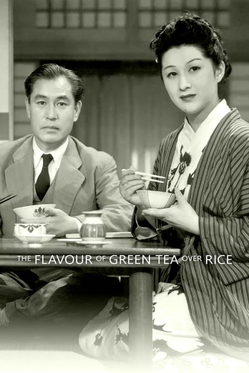 The Flavor of Green Tea Over Rice