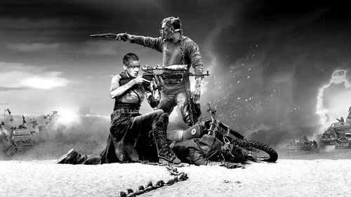 Mad Max: Fury Road Black & Chrome Poster