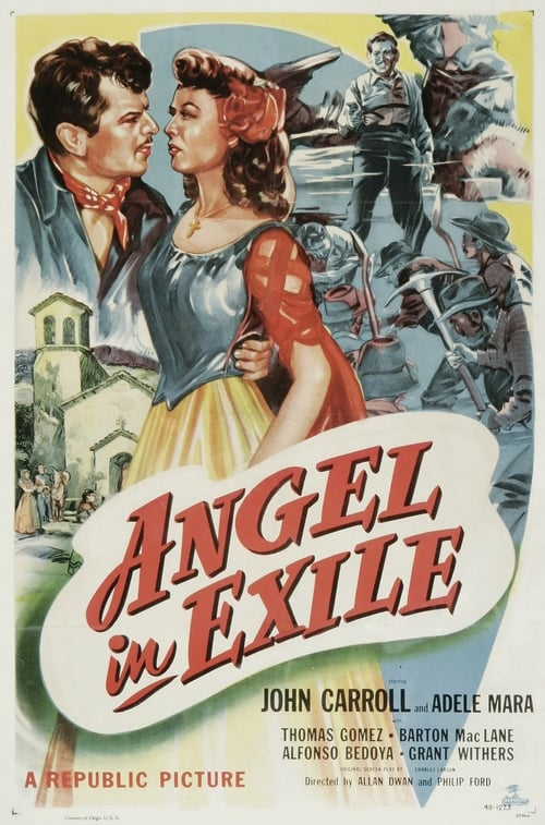 Largescale poster for Angel in Exile