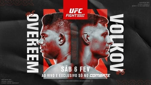 UFC Fight Night 184: Overeem vs. Volkov Poster