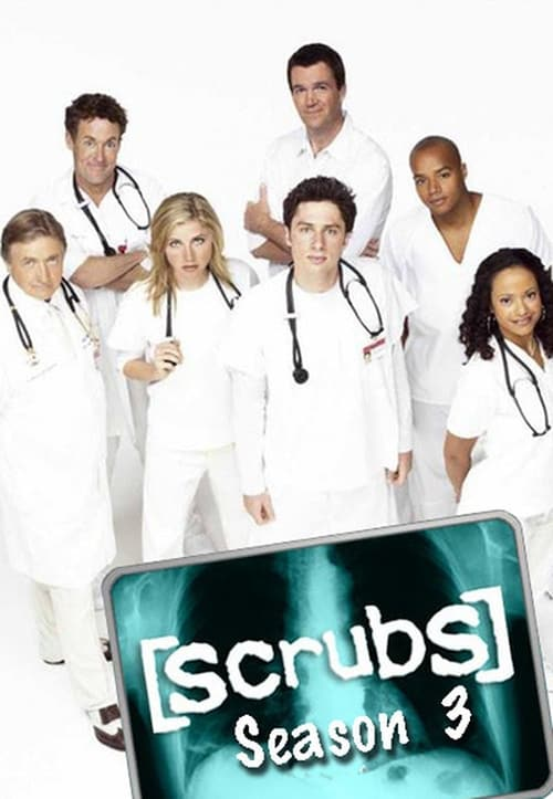 Watch Scrubs Season 3 in English Online Free