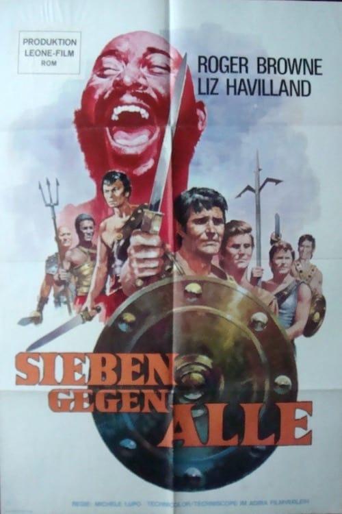 Seven Rebel Gladiators