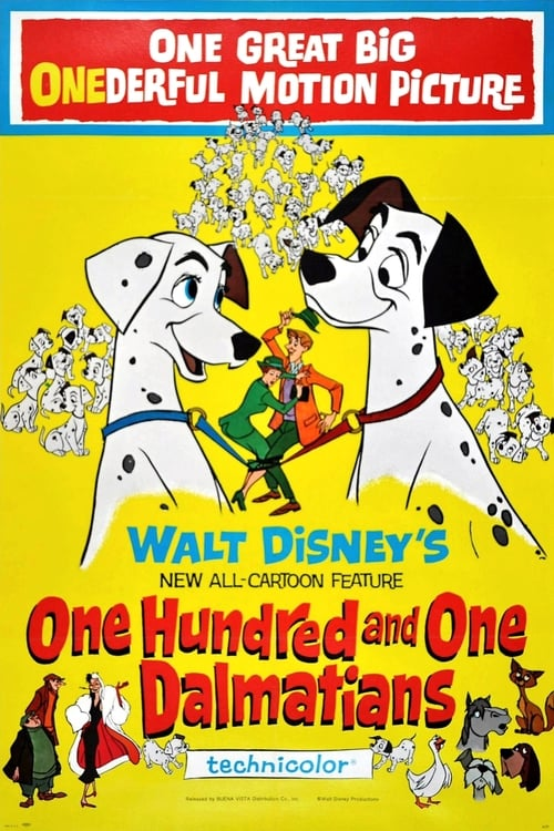 One Hundred and One Dalmatians poster