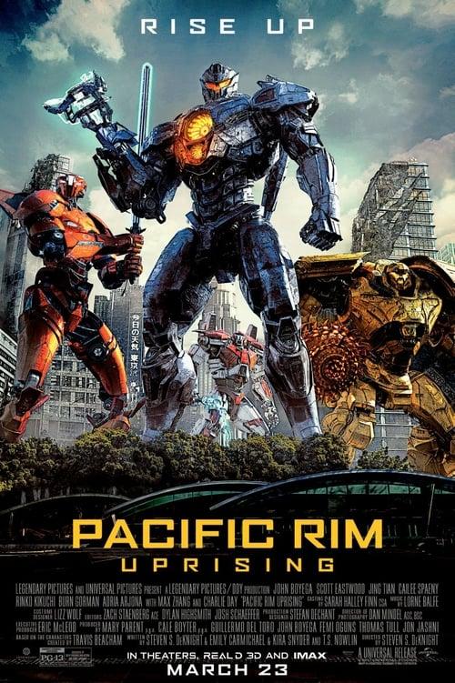 Pacific Rim: Uprising poster