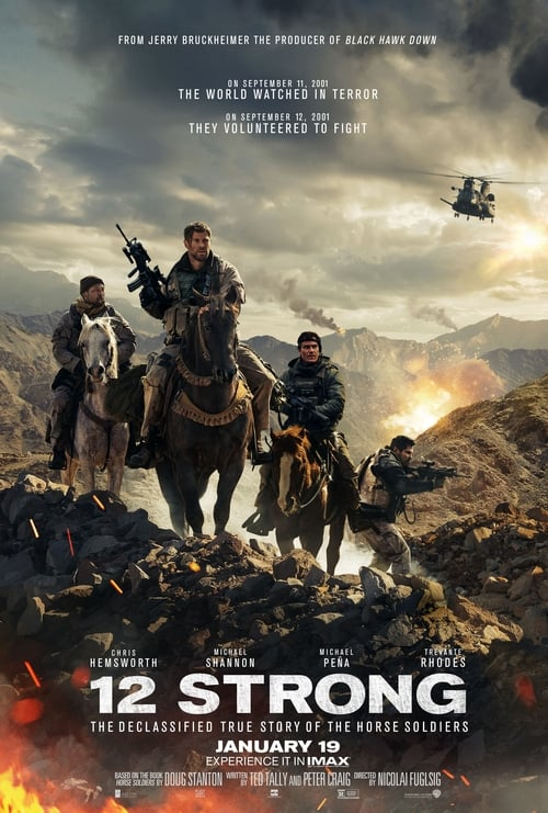 12 Strong poster