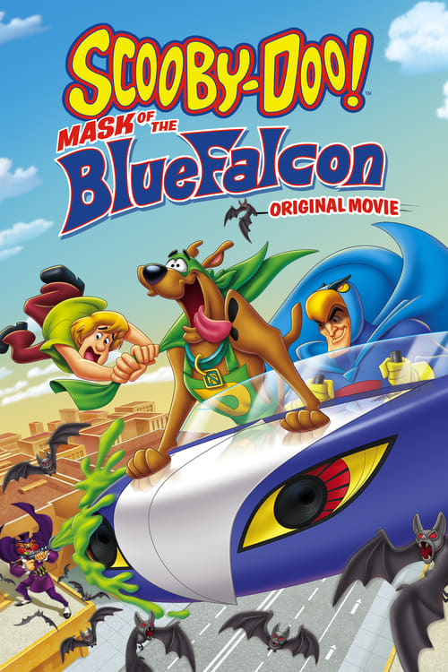 ScoobyDoo Mask Of The Blue Falcon