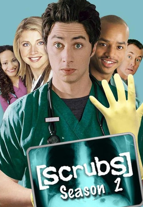 Watch Scrubs Season 2 in English Online Free