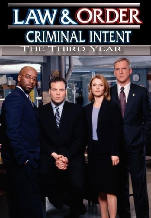Watch Law & Order: Criminal Intent Season 3 in English Online Free